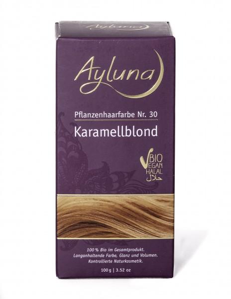 Ayluna Pflanzen Haarfarbe Karamellblond 100 g