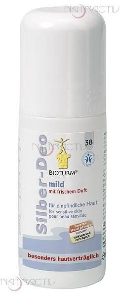 BIOTURM Silber-Deo mild Nr. 38 50 ml
