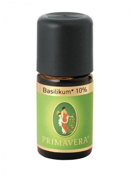 PRIMAVERA LIFE Basilikum bio 10% 5 ml