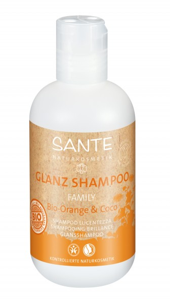 SANTE Glanz Shampoo Orange & Coco 200 ml