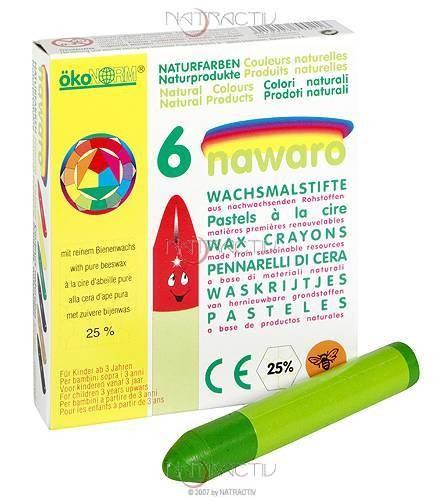 ökoNORM Wachsmalstifte 6 Farben
