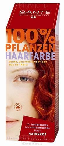 SANTE Pflanzen-Haarfarbe Naturrot 100 g