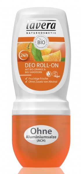 lavera Soft Deo Roll on Orange Sanddorn 50 ml