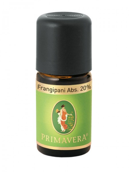 PRIMAVERA LIFE Frangipani Absolue 20% Indien 5 ml