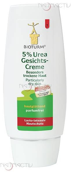 BIOTURM 5 % Urea Gesichtscreme Nr. 7 75 ml
