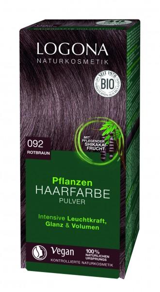 LOGONA Pflanzen Haarfarbe Rotbraun 100 g