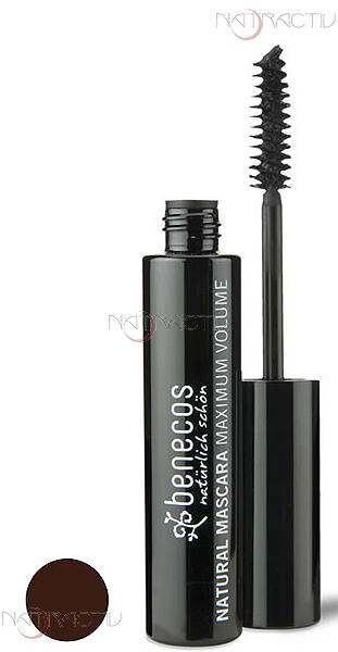 benecos NATURAL MASCARA MAXIMUM VOLUME smooth brown 8 ml