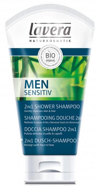 lavera Men Sensitiv 2in1 Dusch-Shampoo 150 ml