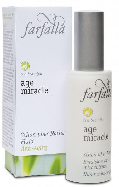 farfalla Age Miracle Schön über Nacht Fluid 30 ml