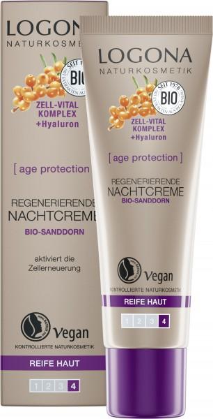 LOGONA AGE PROTECTION Regenerierende Nachtcreme 30 ml