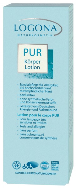 LOGONA PUR Körperlotion 200 ml