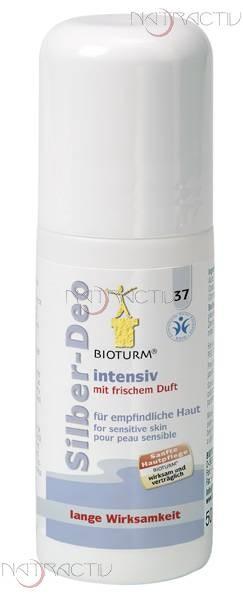 BIOTURM Silber-Deo intensiv Nr. 37 50 ml