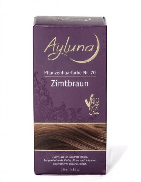 Ayluna Pflanzen Haarfarbe Zimtbraun 100 g