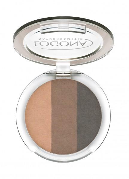 LOGONA Eyeshadow Trio No. 02 1 St