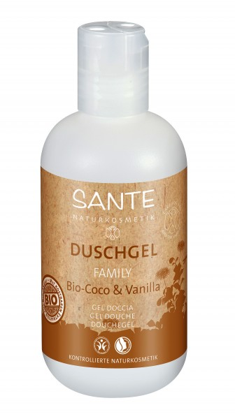 SANTE Duschgel Coco & Vanilla 200 ml