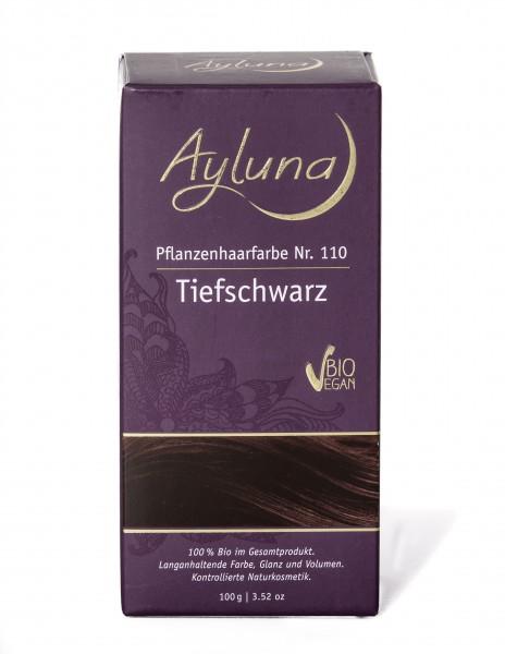 Ayluna Pflanzen Haarfarbe Tiefschwarz 100 g