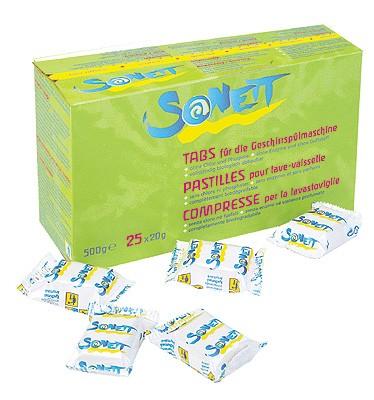SONETT Spülmaschinen Tabs 25 x 20 g (500 g)