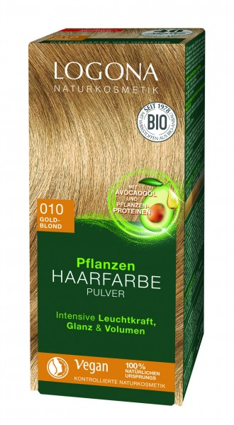 LOGONA Pflanzen Haarfarbe Goldblond 100 g