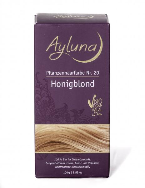 Ayluna Pflanzen Haarfarbe Honigblond 100 g