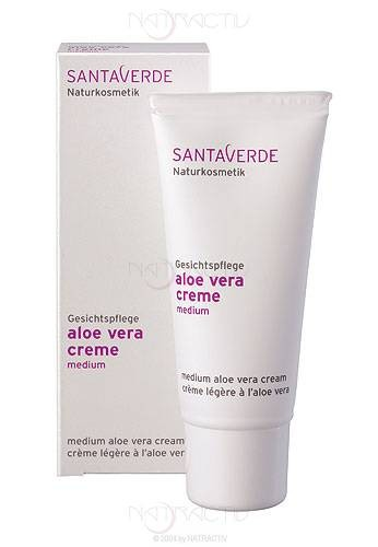SANTAVERDE aloe vera creme medium 30 ml