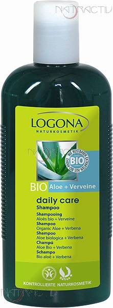 LOGONA Daily Care Shampoo Bio-Aloe & Verveine 250 ml