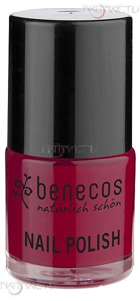 benecos NAIL POLISH vintage red 9 ml