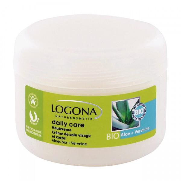 LOGONA Naturkosmetik daily care Hautcreme Bio Aloe Verveine 150 ml