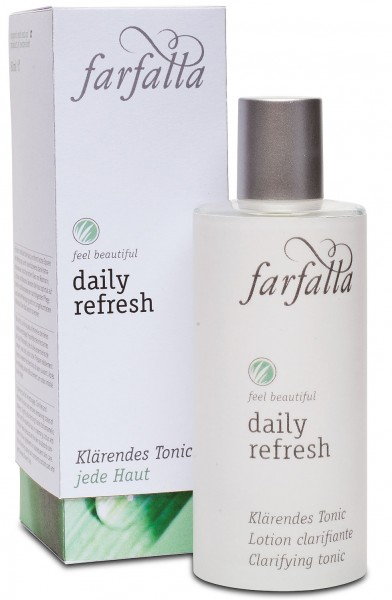 farfalla Daily Refresh Klärendes Tonic 80 ml