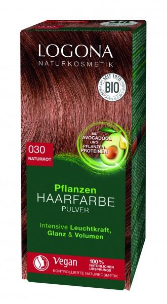 LOGONA Pflanzen Haarfarbe Naturrot 100 g