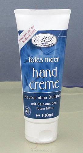 CMD Neutral Handcreme mit Salz vom Toten Meer 100 ml