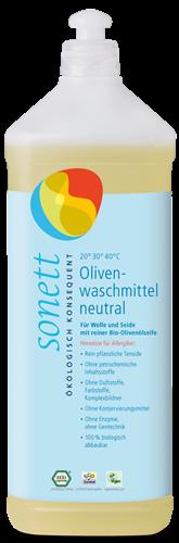 SONETT Oliven Waschmittel sensitiv 1 l