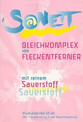 SONETT Kleinpackung Bleichkomplex & Fleckentferner 50 g