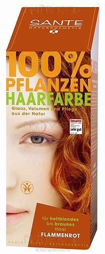 SANTE Pflanzen Haarfarbe Flammenrot 100 g