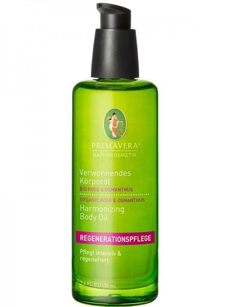 PRIMAVERA LIFE verwöhnendes Körperöl Bio Rose & Osmanthus 100 ml