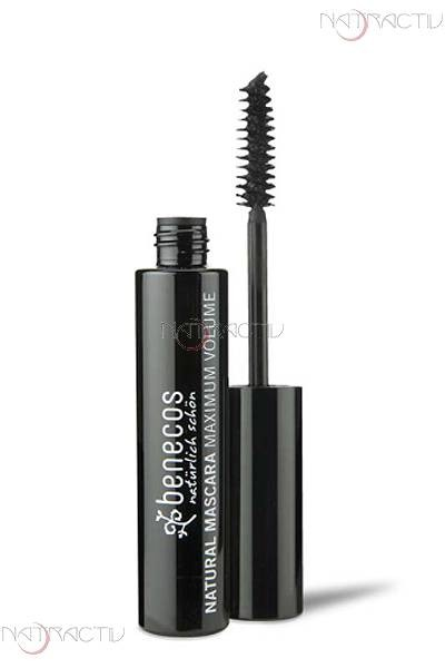 benecos NATURAL MASCARA MAXIMUM VOLUME deep black 8 ml
