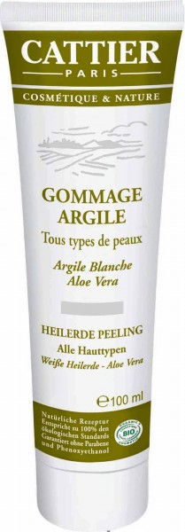 CATTIER Paris Weiße Heilerde Peeling für alle Hauttypen 100 ml