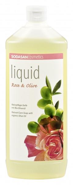 SODASAN Liquid Seife Nachfüllung 1 l