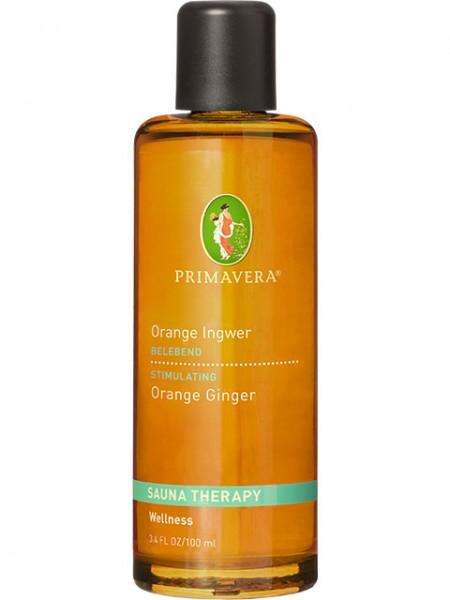 PRIMAVERA LIFE Saunaaufguss Orange Ingwer 100 ml