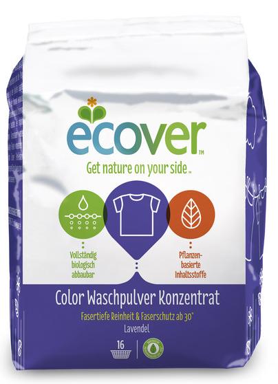 ECOVER Color Waschpulver Konzentrat Lavendel
