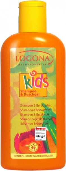 LOGONA Kids Shampoo & Duschgel 200 ml