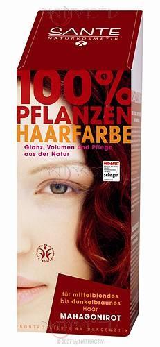 SANTE Pflanzen Haarfarbe Mahagonirot 100 g