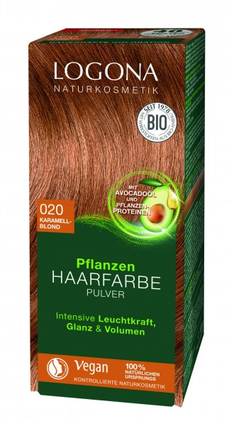 LOGONA Pflanzen Haarfarbe Karamellblond 100 g