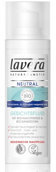 lavera Neutral Gesichtsfluid 30 ml